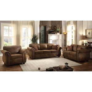 Rustic Living Room Sets You\'ll Love   Wayfair