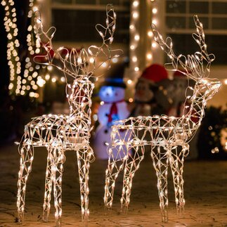 outdoor christmas light displays - Outdoor Christmas Decorations