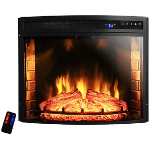 Curved Wall Mount Electric Fireplace Insert  Wall Electric Fireplace