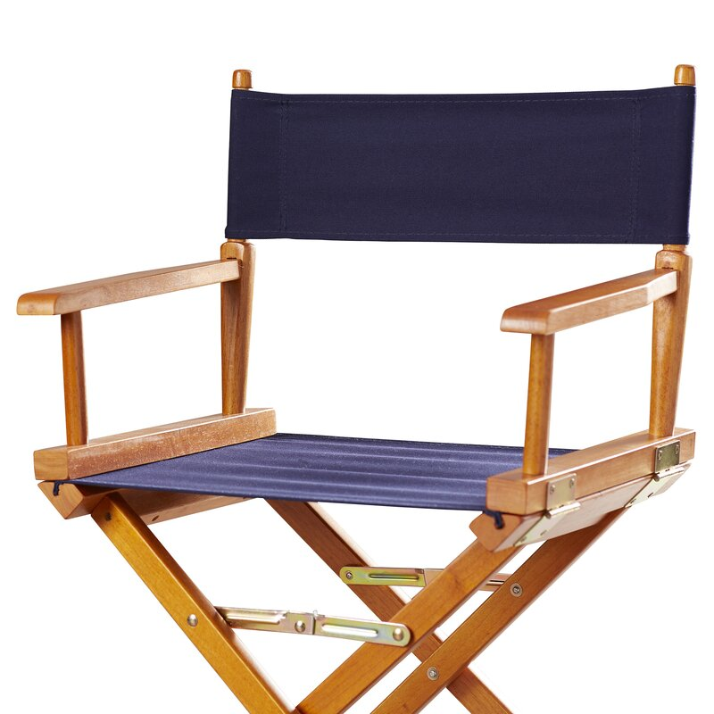 Defaultname With Bamboo Directors Chairs