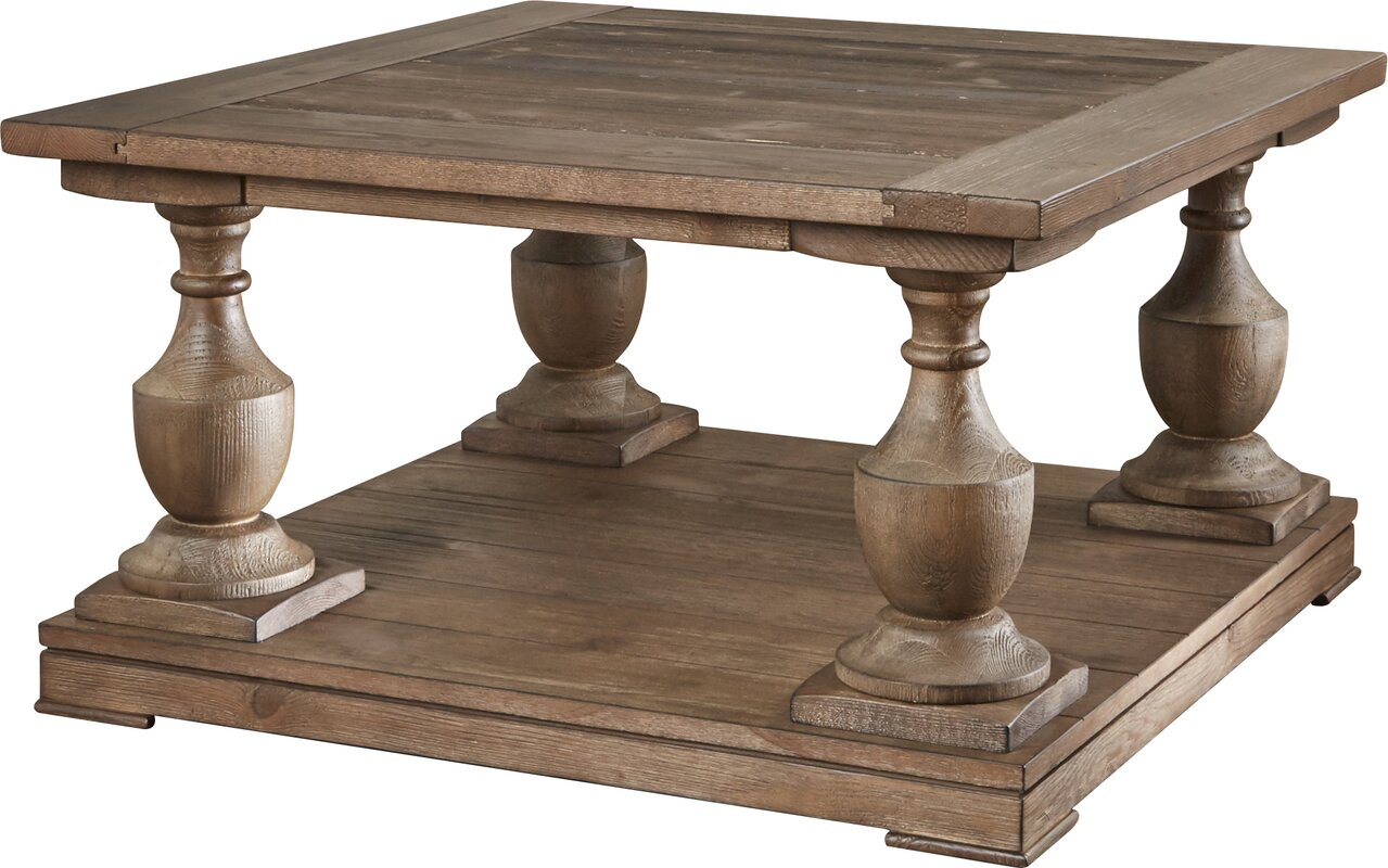 Square Coffee Tables Joss  Main - Square wood coffee table