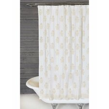 bahaar cotton shower curtain