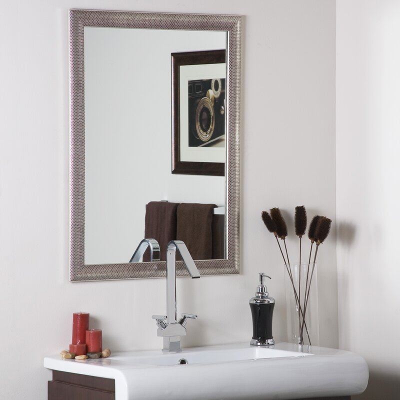Wayfair Wall Mirrors willa arlo interiors vertical rectangle wall mirror & reviews