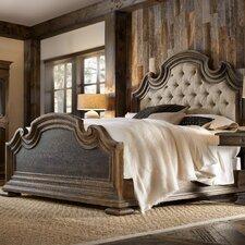 Hill Country Fair Oaks Upholstered Platform Bed by Hooker Furniture