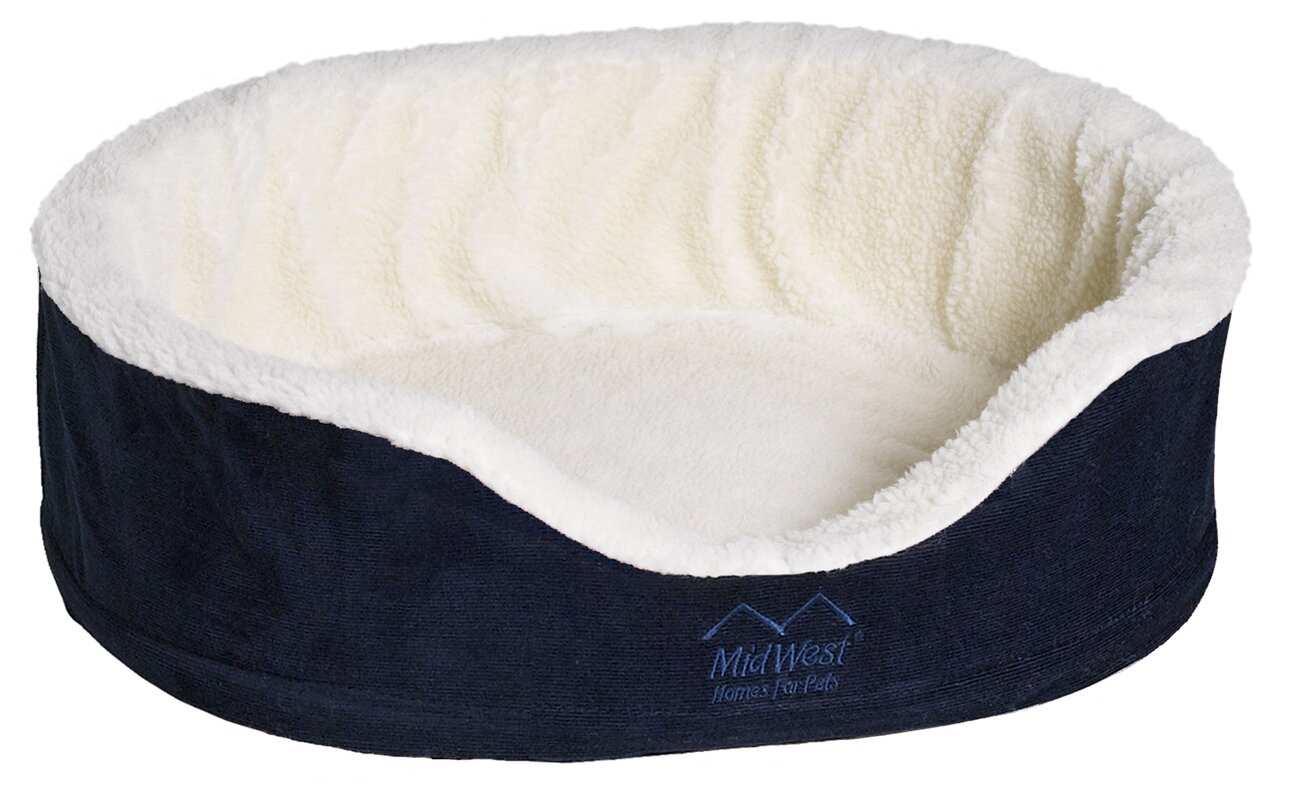 midwest homes for pets quiet time e'sensuals orthopedic bolster