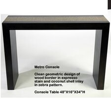 Metro Console Table by Indo Puri