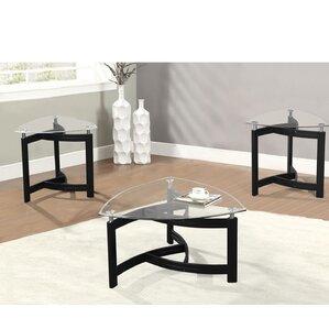 triangle coffee table sets you'll love | wayfair