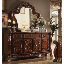 Rangely 7 Drawer Combo Dresser with Mirror by Astoria Grand