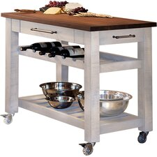 Mobile Kitchen Island. A Stylish And Functional White Mobile .
