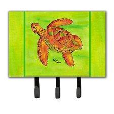 Turtle Key Holder by Caroline's Treasures