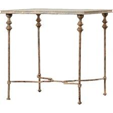 Barkhampstead Glass End Table by Fleur De Lis Living