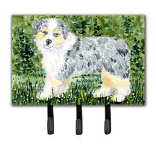 Australian Shepherd Leash Holder and Key Holder by Caroline's Treasures