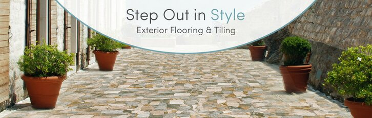 Exterior Flooring & Tile You\'ll Love | Wayfair