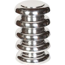 Cast Aluminum Stacked Round Garden Stool by Knox & Harrison