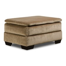 Simmons Upholstery Rome Ottoman by Red Barrel Studio