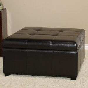 Upholstered Storage Ottoman by Andover Mills