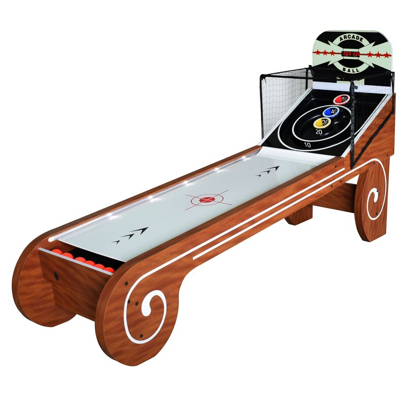 retro skeeball machine