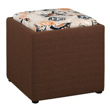 Paul Frank Cube Ottoman by Najarian Furniture