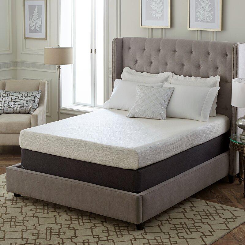 default_name - Memory Foam Mattress Bed Frame