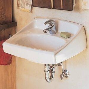 Lucerne Porcelain 21 Wall-Mount Bathroom Sink with Overflow American Standard