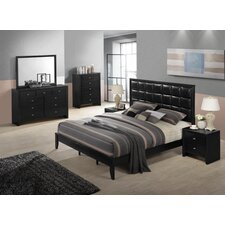 Gloria 6 Piece Bedroom Set by Roundhill Furniture