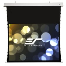 Evanesce White Electric Projection Screen by Elite Screens