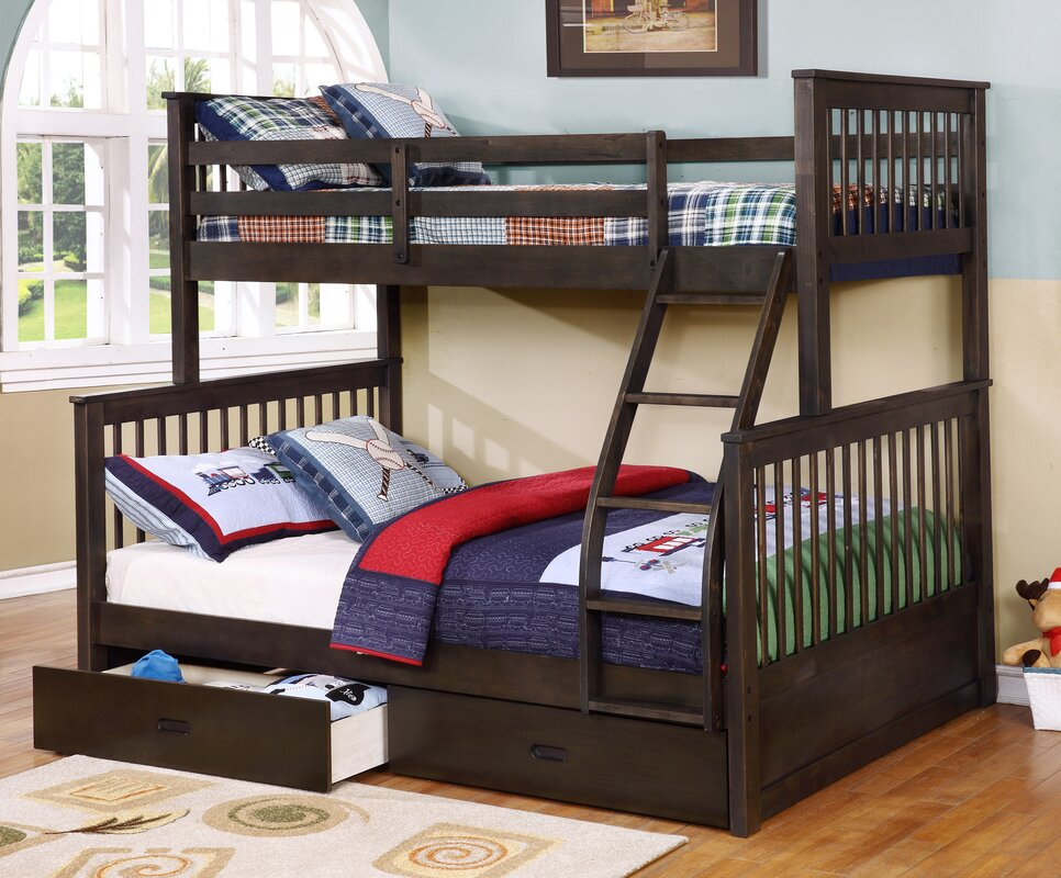 walter twin over full bunk bed - Bunk Bed Frames