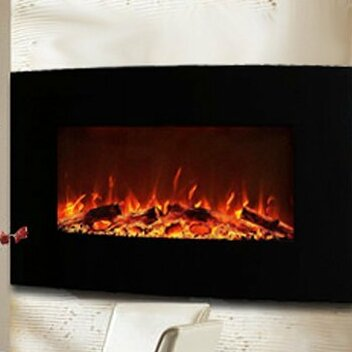 Gibson Living Neptune 35 Logs Wall Mount Electric Fireplace
