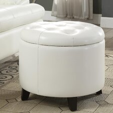 Michigan Round Ottoman with Storage by Alcott Hill