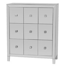Reflections 9 Drawer Cabinet by Gallerie Decor