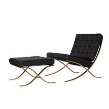 Leonel Lounge Chair and Ottoman by Orren Ellis