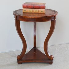 Almont Hand Carved End Table by Astoria Grand