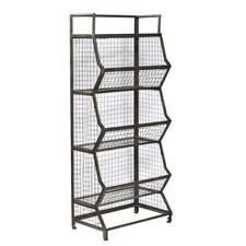 Joelle Metal Bin 54 Etagere by 17 Stories