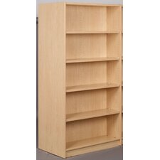 Library Starter Double Face Shelf 74 Standard Bookcase by Stevens ID Systems