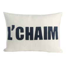 L'Chaim Throw Pillow