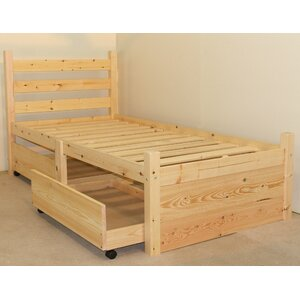 Finchley Single Storage Panel Bed