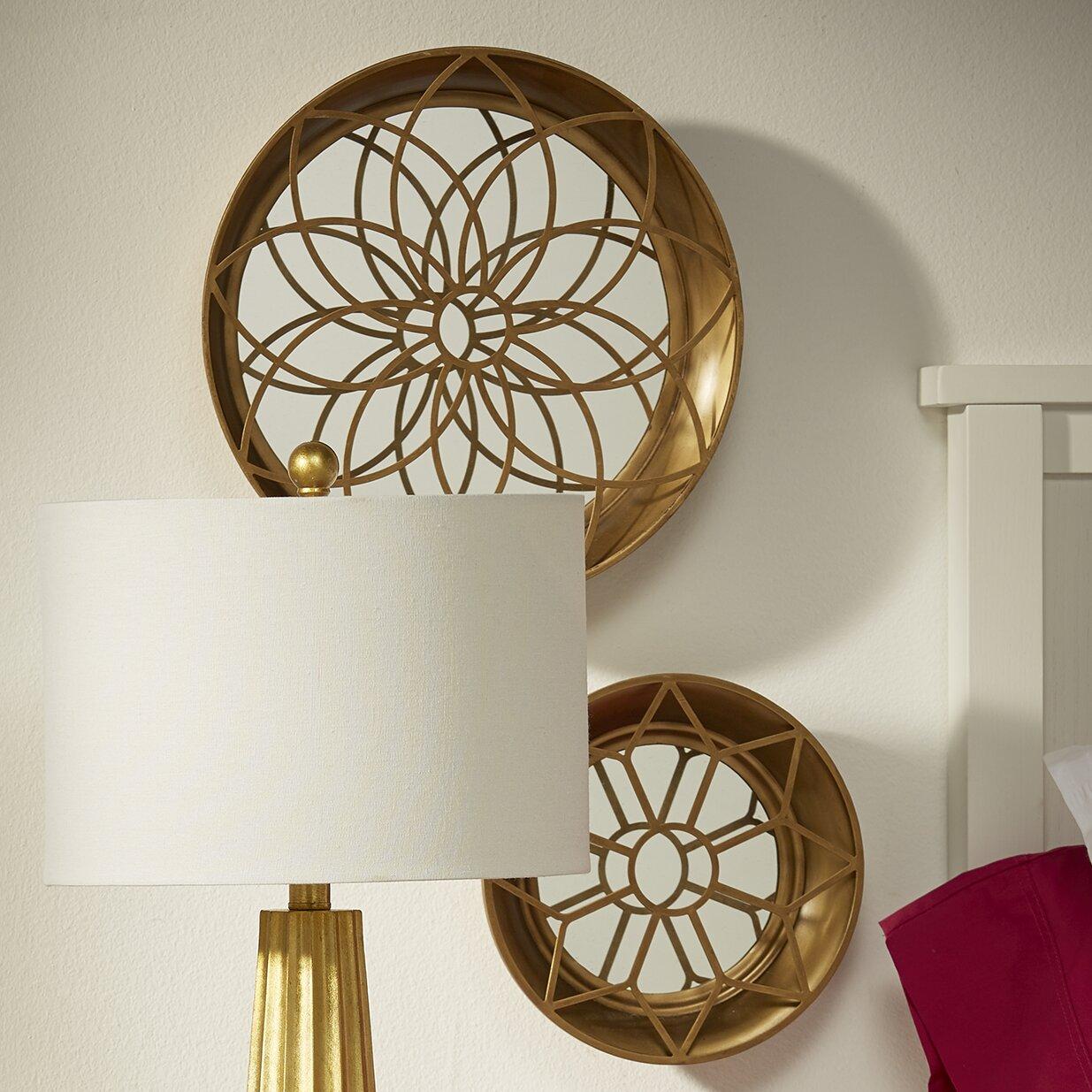 3 Piece Hanging Mirror Wall Decor Set & Reviews | AllModern