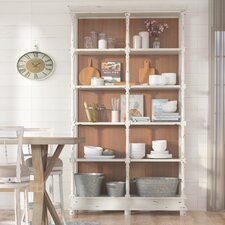 Richard 92 Accent Shelves Bookcase by One Allium Way