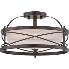 Rieger 2 Light Semi Flush Mount