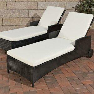 Turin Sun Lounger with Cushion