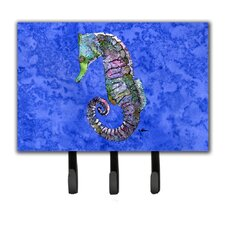 Seahorse Leash Holder and Key Hook by Caroline's Treasures
