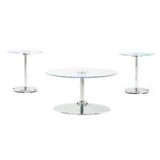 Macie Coffee Table Set by Wade Logan