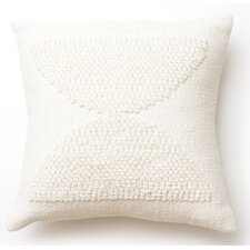 Hour Glass Cotton Throw Pillow