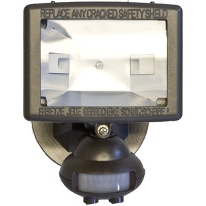 Motion Activated Lights 1 Light Outdoor Floodlight