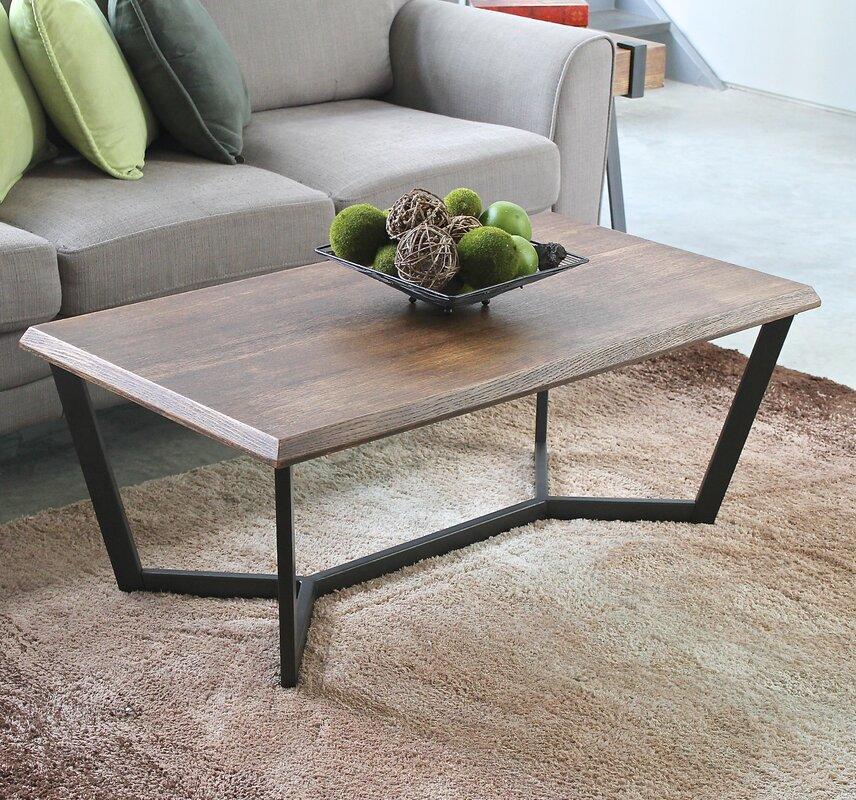 laurel foundry modern farmhouse wisteria coffee table & reviews
