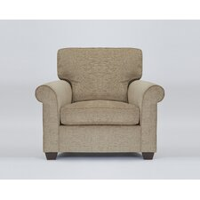 Glastonbury Upholstered Armchair by Red Barrel Studio