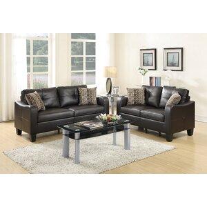 Bobkona Spencer Sofa Set by Poundex
