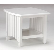 Keywest End Table in White by Night & Day Furniture