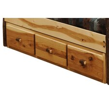 Hickory 3 Drawer Dresser by Fireside Lodge