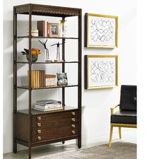Crestaire Weton 79 Etagere Bookcase by Stanley Furniture